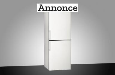Smalt køleskab