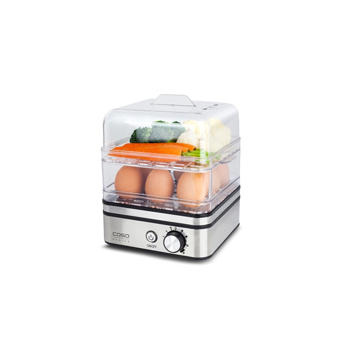Caso æggekoger/Steamer ED10, Stål